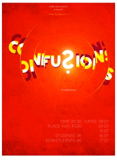 """""""Confusions"""" Poster Design"""