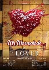 """Mr Marmalade"" & ""The Lover"" Poster Design"