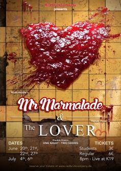 """Mr Marmalade"" & ""The Lover"" Poster Design"