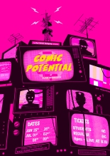 """Comic Potential"" Poster Design"